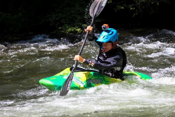 Whitewater Kayaking   Camp Carolina, Brevard, NC