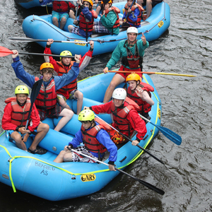 White Water Rafting Builds Confidence, Friendships and Develops Skills at CCB